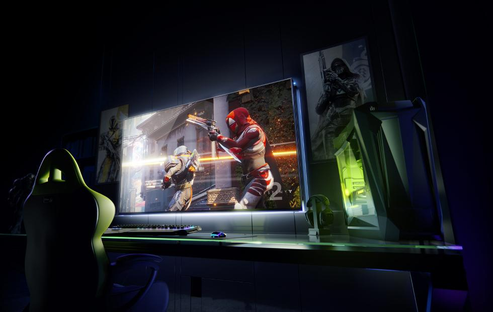 NVIDIA levels up with Big Format screens, Freestyle filters at CES 2018