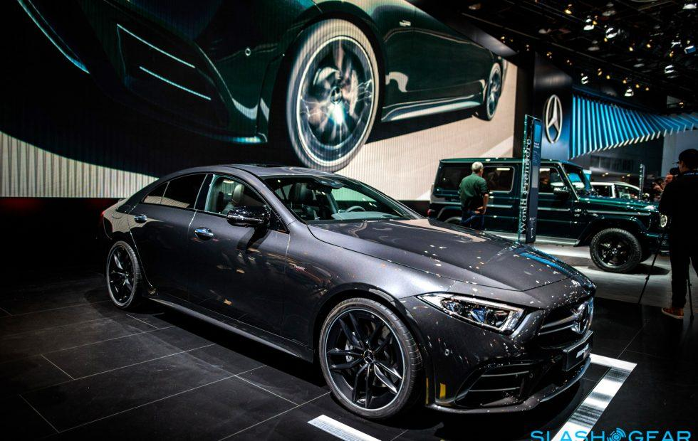 The 2019 Mercedes-AMG CLS53 is one mean-looking hybrid