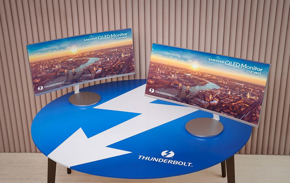 Samsung reveals first curved Thunderbolt 3 monitor