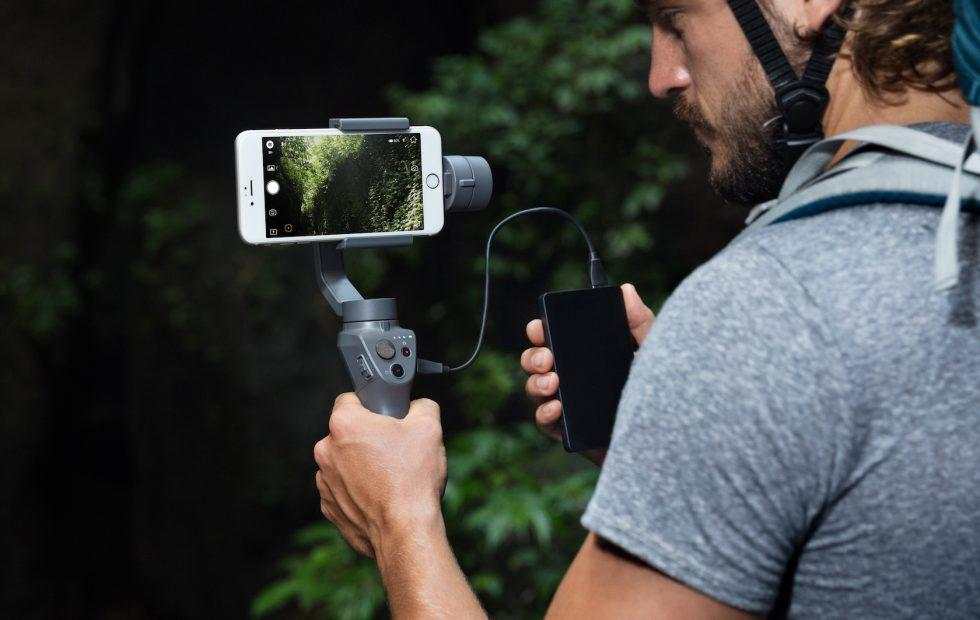 DJI Osmo Mobile 2 packs phone stabilization for $129