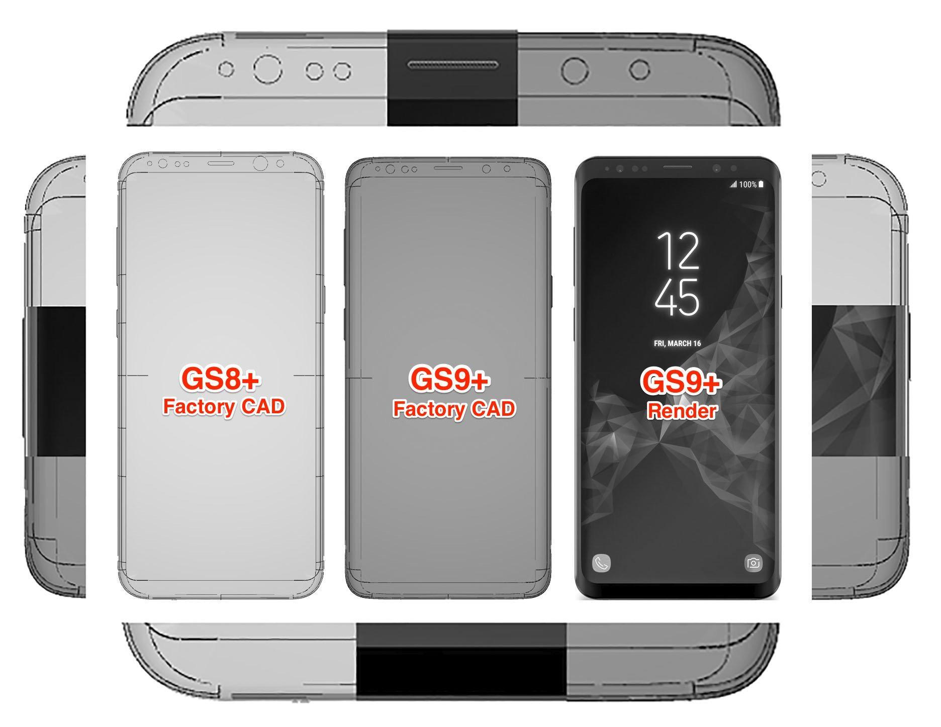 Galaxy S9 specs and bezel size measured in latest leak - SlashGear