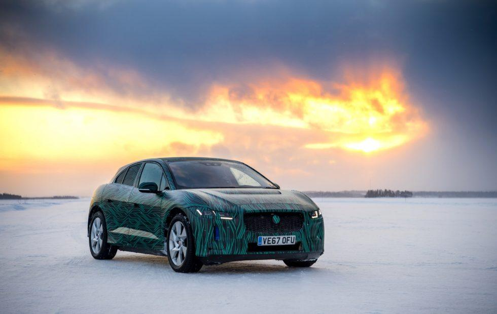 Jaguar's I-PACE EV has a Tesla-rivaling charge rate