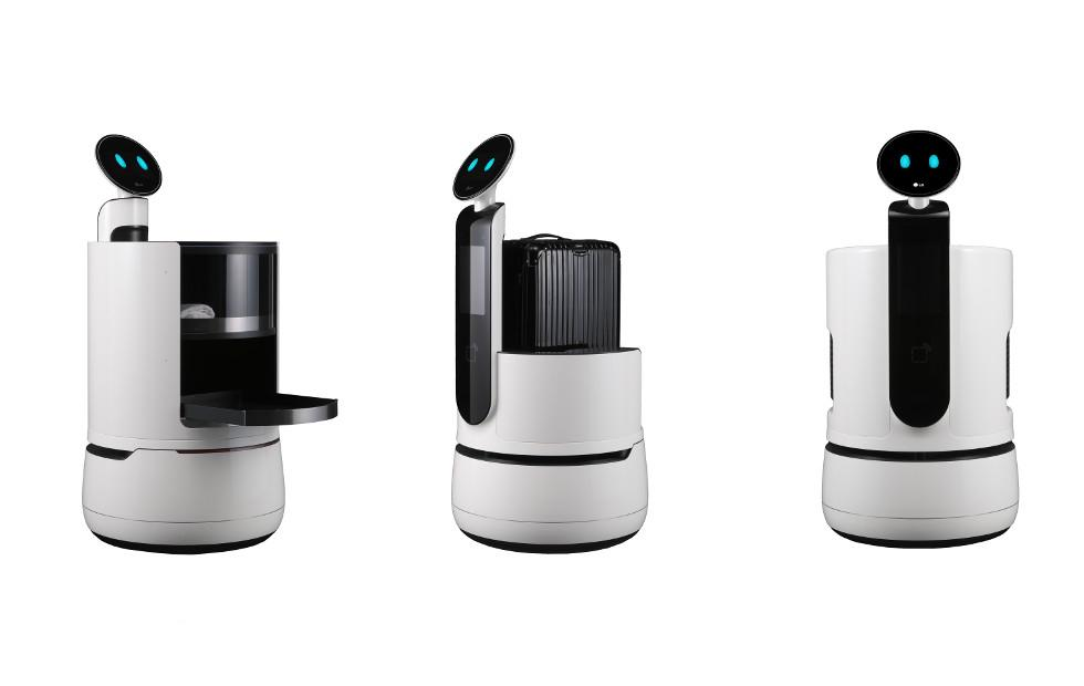 LG CLOi line adds three new helping robots