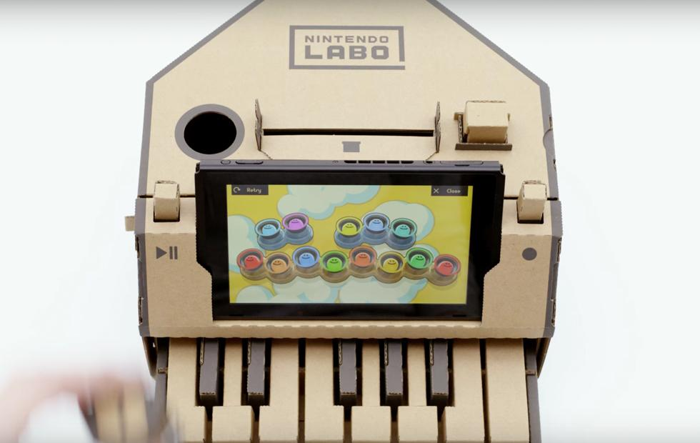 Nintendo Labo: DIY cardboard mods transform the Switch