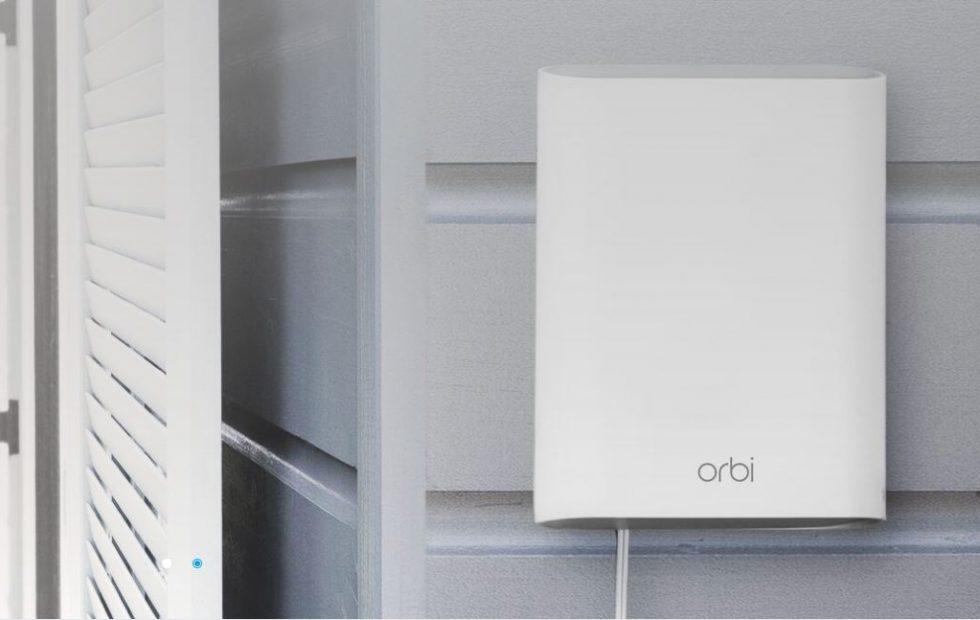 Netgear Orbi outdoor satellite takes your WiFi network