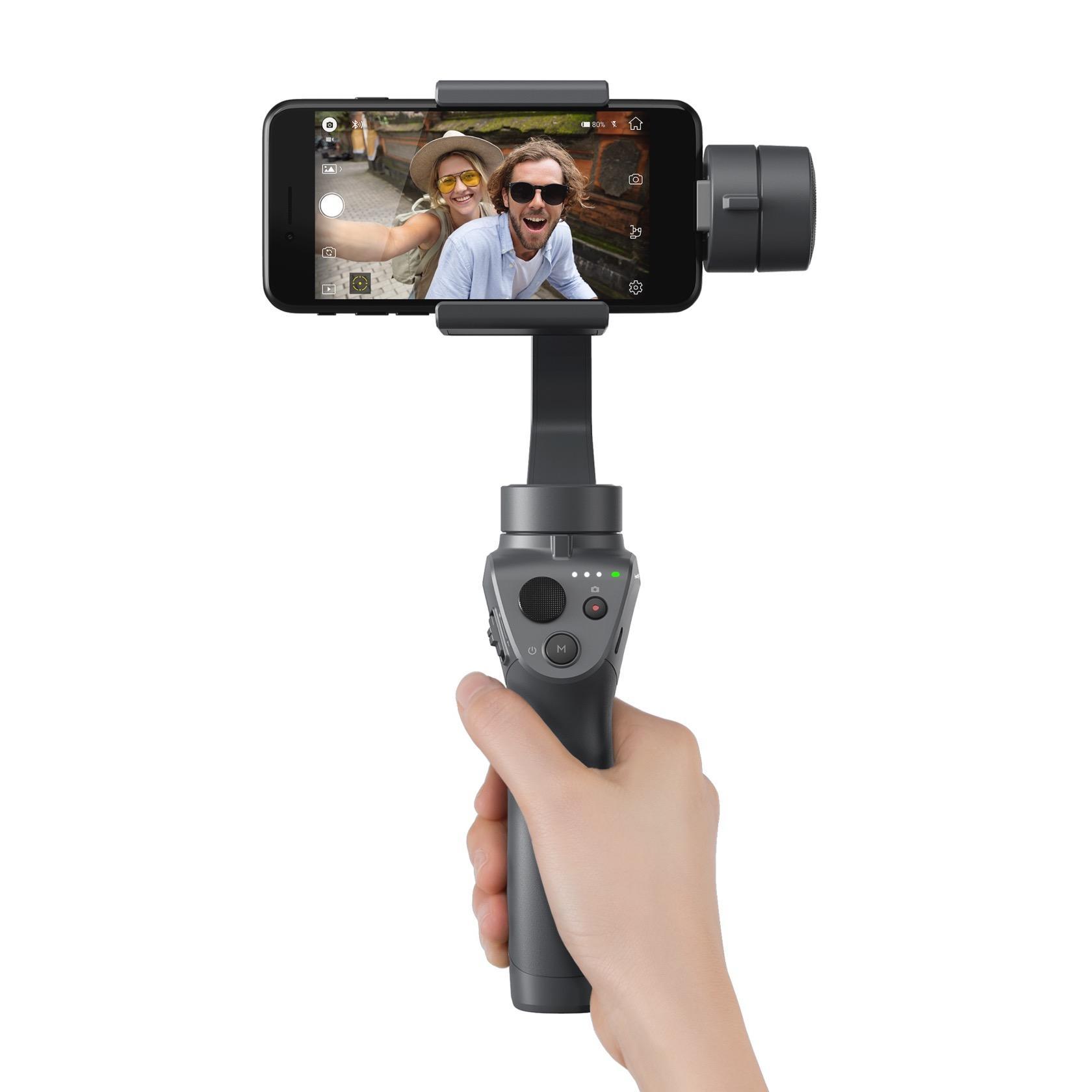 DJI Osmo Mobile 2 packs phone stabilization for $129 - SlashGear