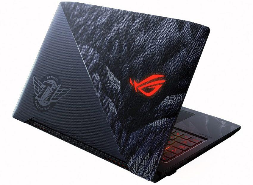 ASUS ROG gaming laptops go big with high-end hardware, eSports tie-ins