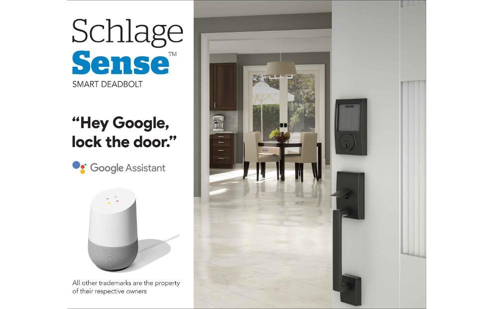 Schlage Sense Smart Deadbolt now works with Google Assistant