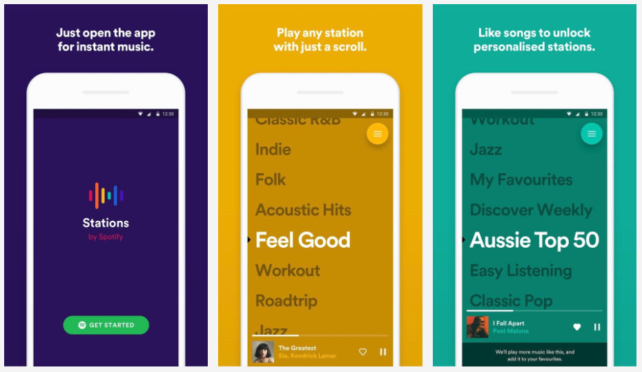 Spotify Stations launches on Android, but good luck using it