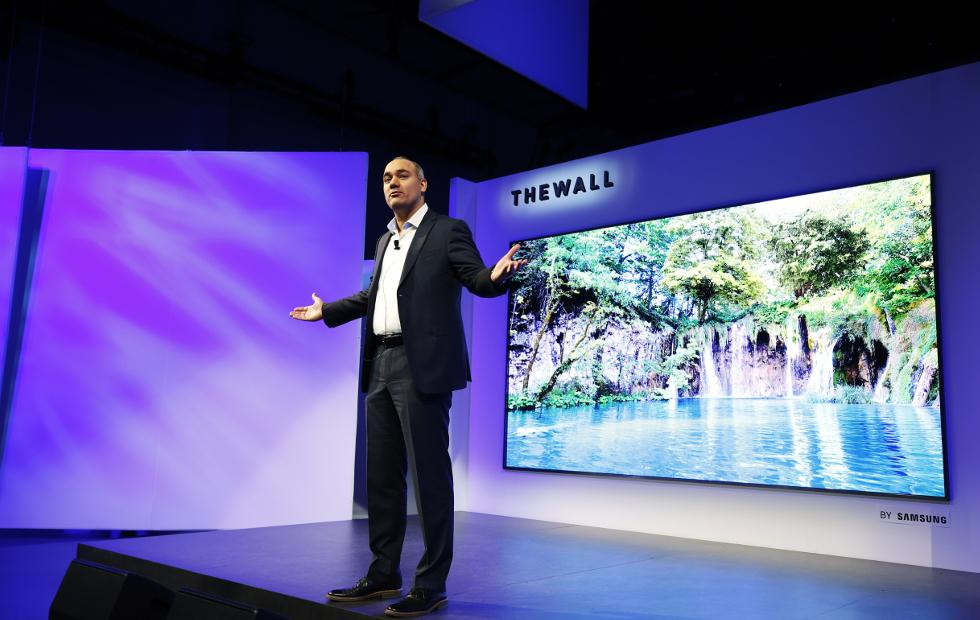 Samsung The Wall 146-inch TV, 8K AI tech take viewing to the next level