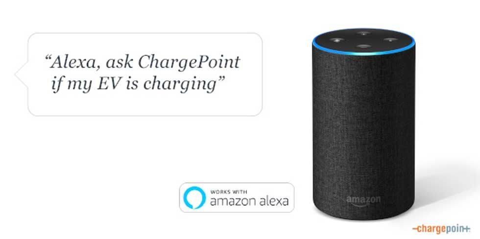 ChargePoint Home Adds Amazon Alexa Integration
