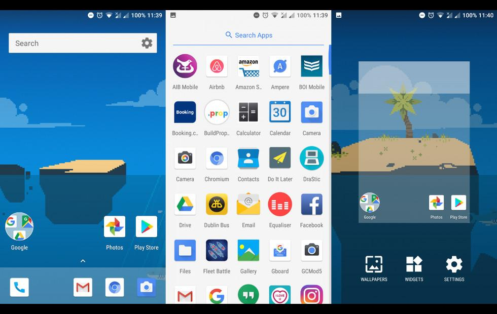 Android One launcher with Google Now panel: get it here