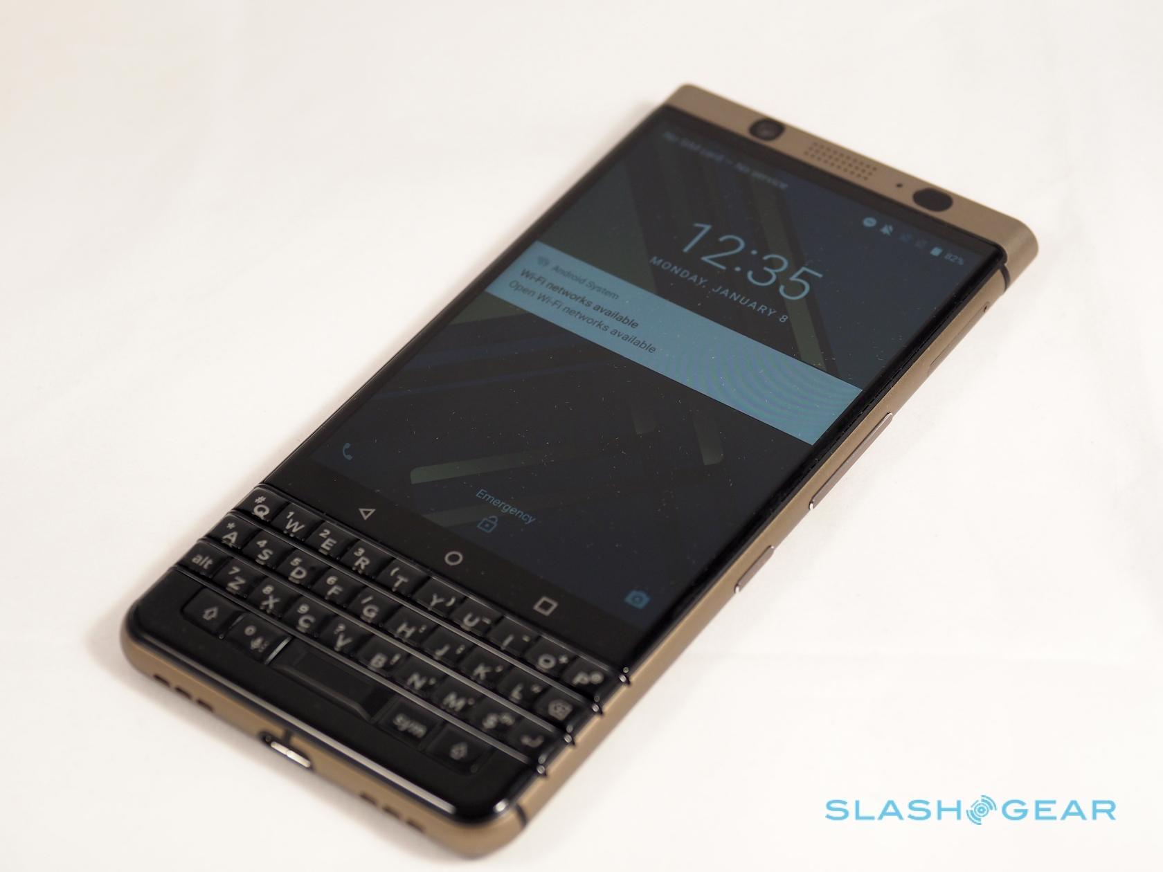 BlackBerry promises 2 new phones plus Motion US launch