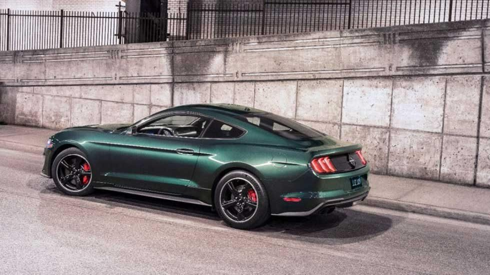 2019 Ford Mustang Bullitt VIN 001 heads to charity auction
