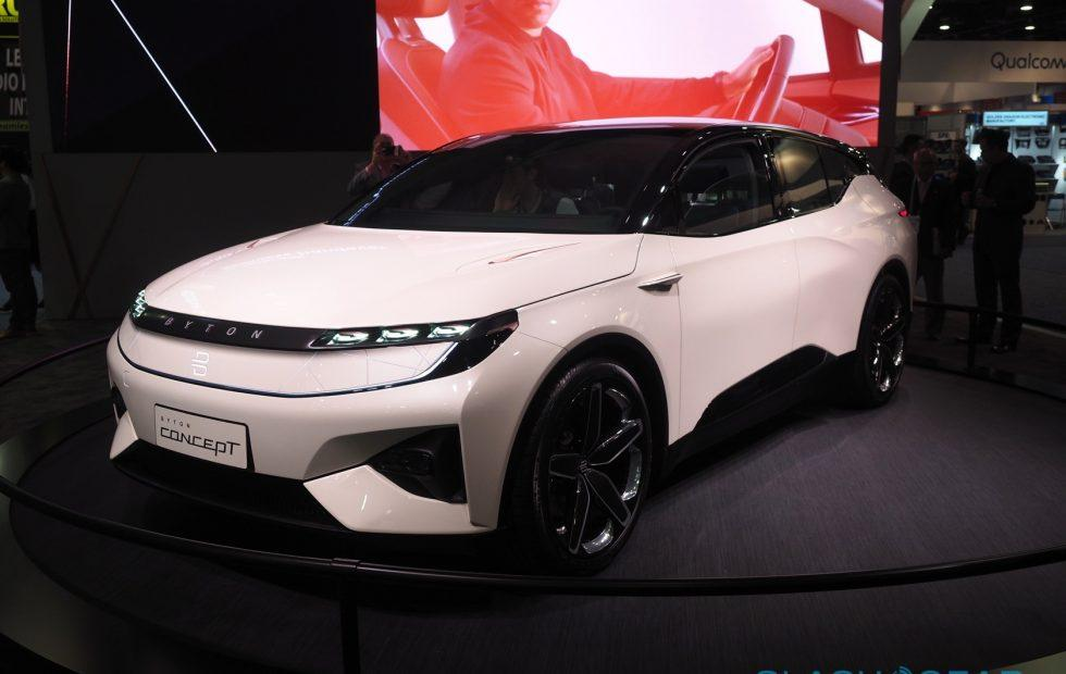 Byton's electric SUV is the anti-Faraday Future of CES