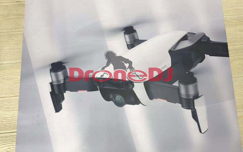 DJI Mavic Air drone leaks as Spark/Pro-tweener - SlashGear
