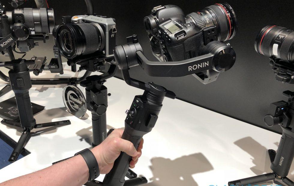 DJI Ronin-S hands-on: One-handed stabilization for DSLR