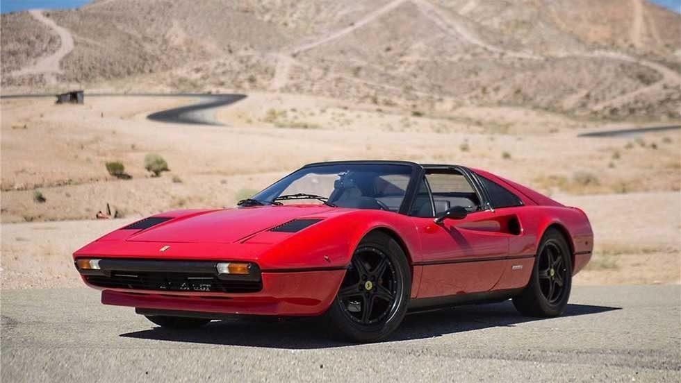 Electric Ferrari 308 GTS makes Magnum proud