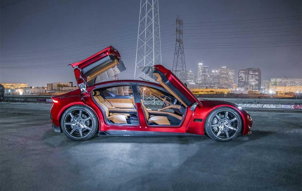 Fisker's sexy EMotion EV debuts at CES 2018