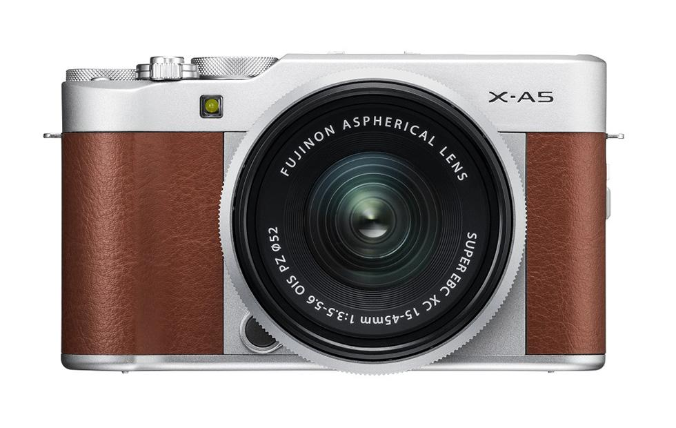 Fujifilm X-A5 mirrorless camera launches: 24MP, 4K video, retro design