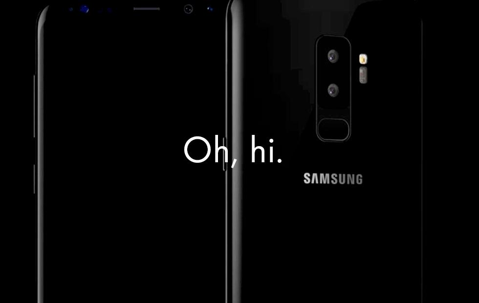 Galaxy S9 leaks release-level images