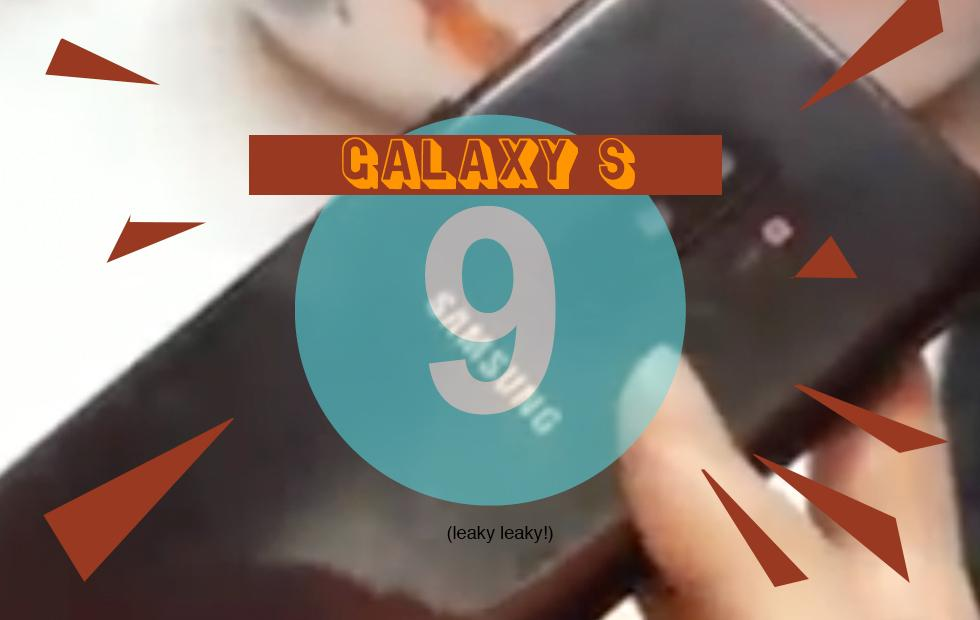 Galaxy S9 video hands-on leaked (dummies with S9 Plus, too!)