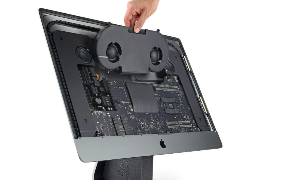 iMac Pro teardown: Modular parts, hard modularity