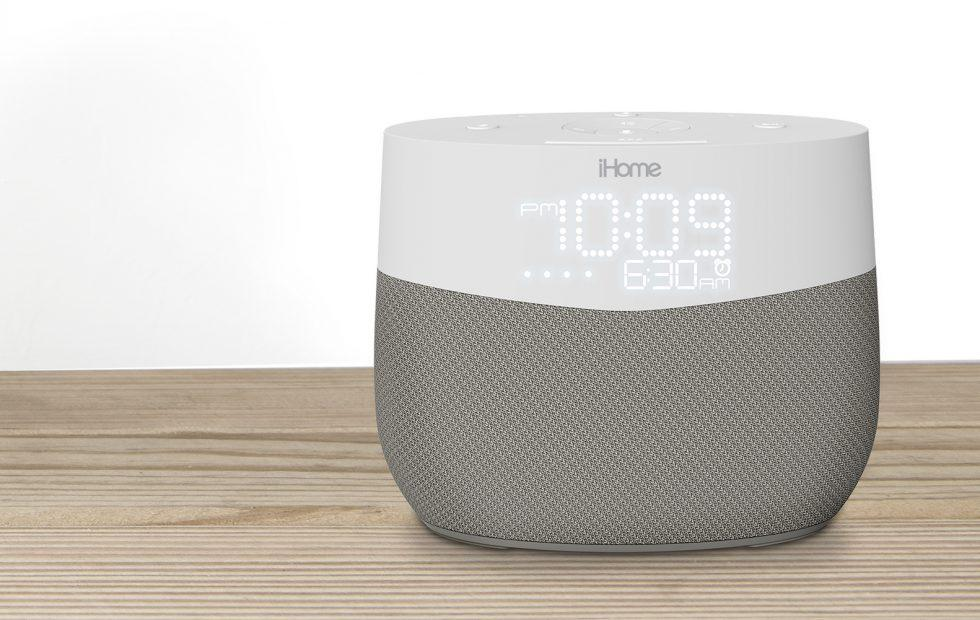 iHome iGV1 puts the Google Assistant in a nightstand clock