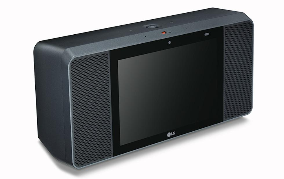 LG WK9 Google Assistant touch screen speaker completes the trio