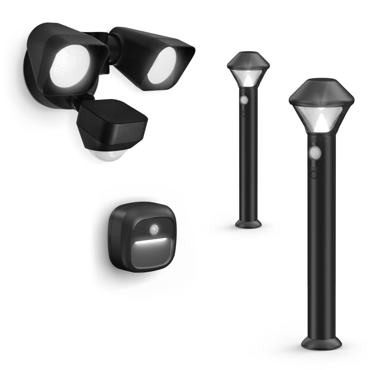 Ring Stick Up Cam, Beams, Alarm round out home security
