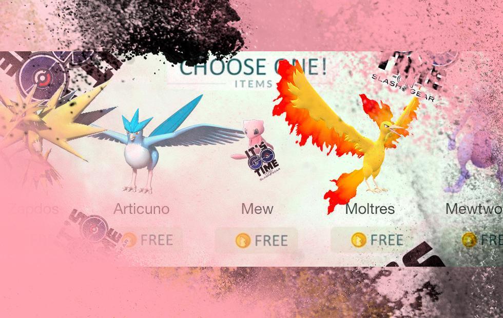 Pokemon GO: Mew code in game