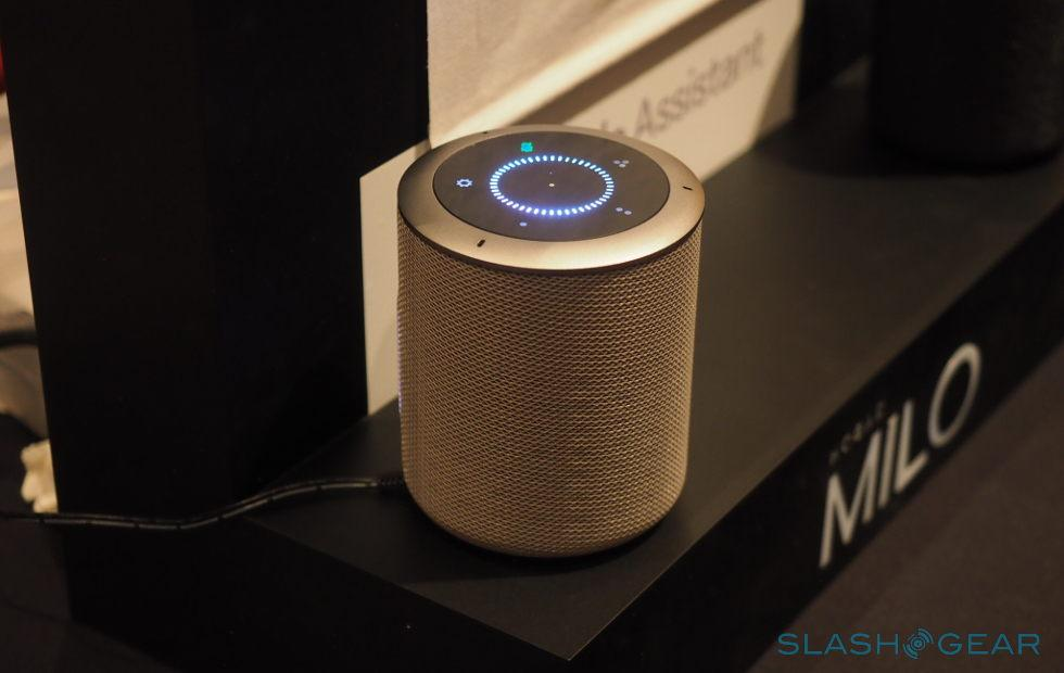 Milo smart speaker doubles as home hub, Google Assistant inside