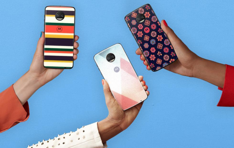 Moto Mod Gorilla Glass style shells protect your phone in style