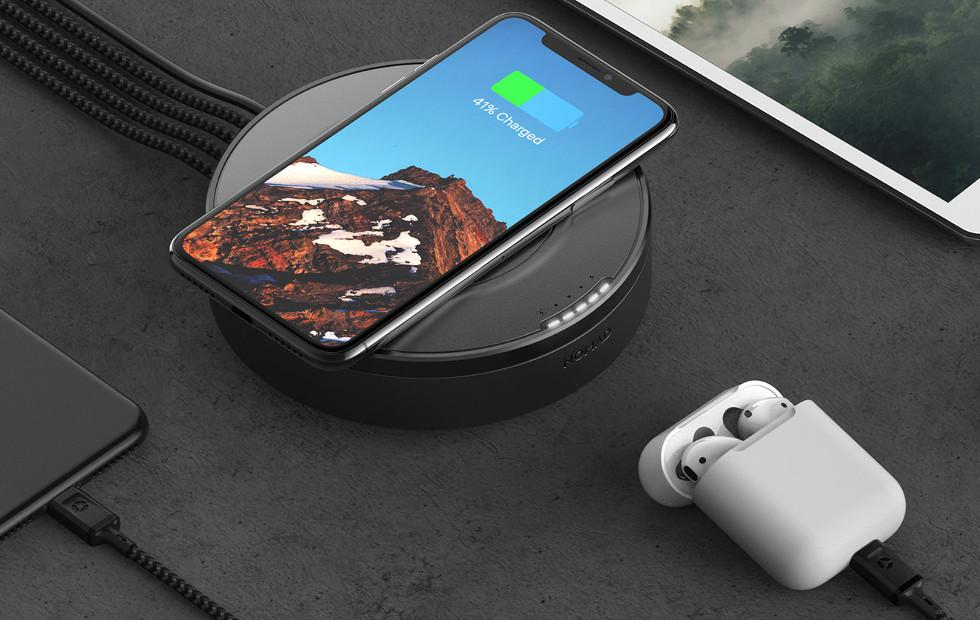 Nomad Wireless Hub charges five at the same time