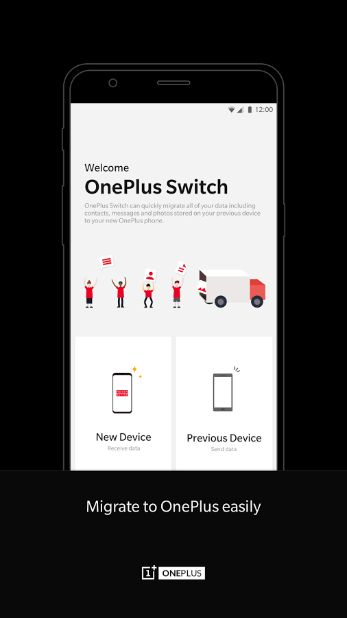 Jammery , Use the OnePlus Switch app to ditch your old Android phone