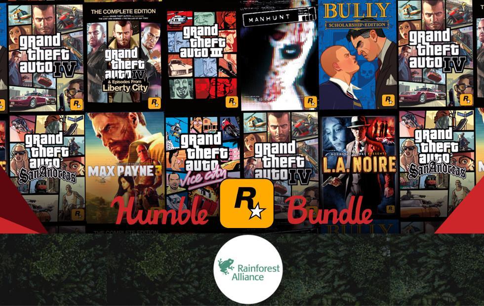 Rockstar Games Humble Bundle will meet your GTA needs