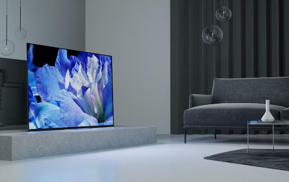 2018 Sony A8F OLED and X900F 4K HDR TVs pack X1 Extreme processor