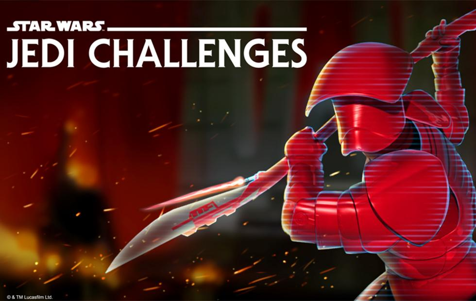 Star Wars: Jedi Challenges AR system gets new The Last Jedi content pack