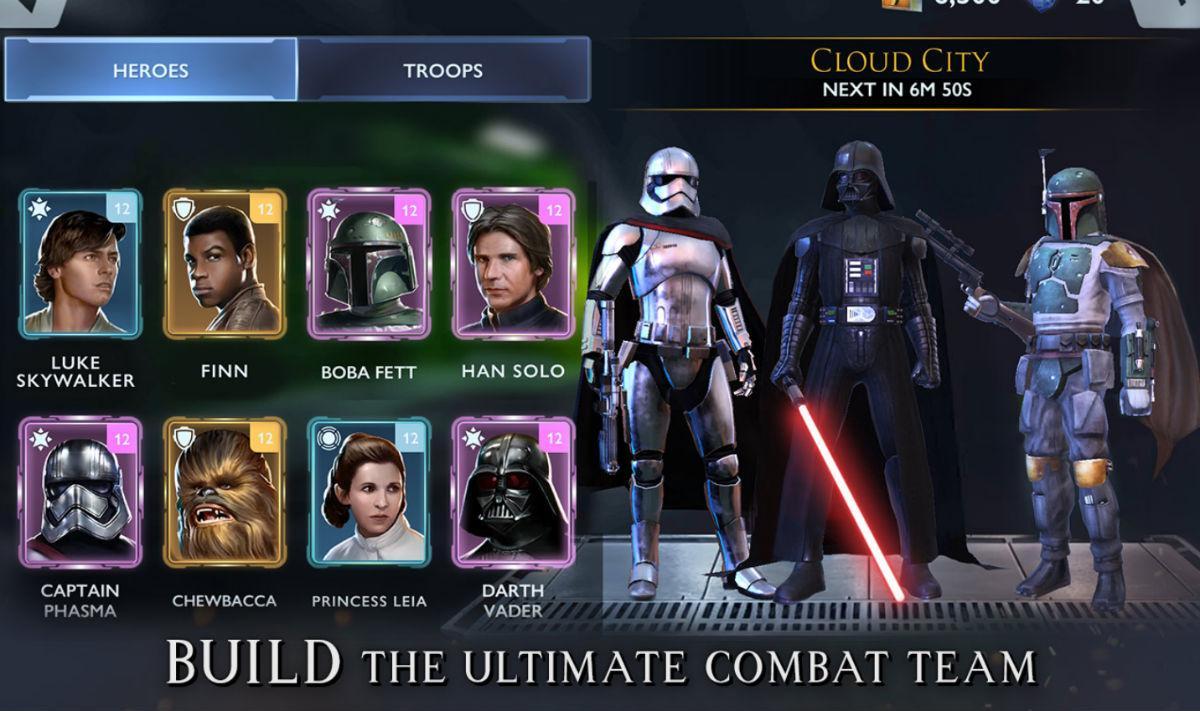 Star Wars: Rivals mobile game detailed: pre-registration