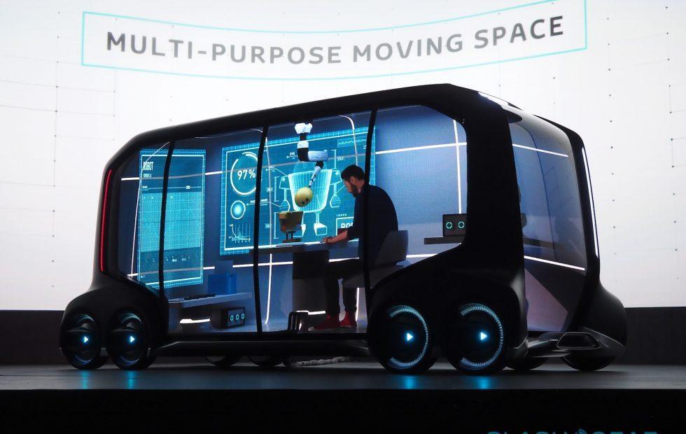 Toyota e-Palette autonomous concept wins over Amazon, Uber, more