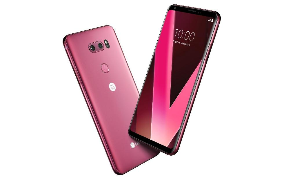 LG V30 in Raspberry Rose to debut at CES 2018