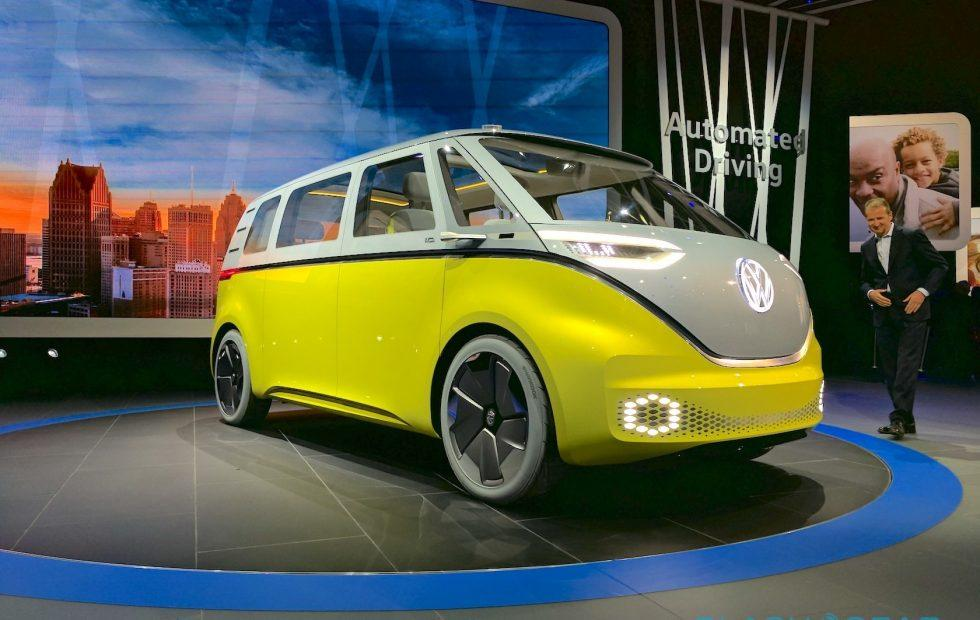 VW's Microbus EV will have an NVIDIA-powered AI co-pilot