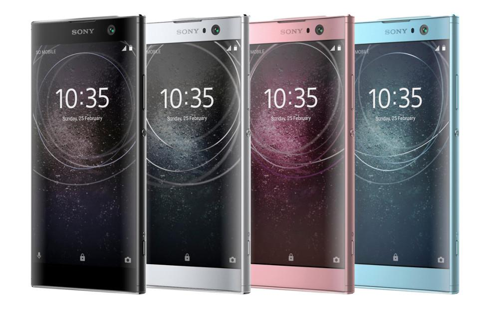 Xperia XA2, XA2 Ultra, L2 official renders show an important change