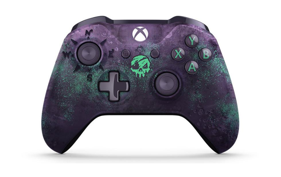 Xbox One Sea of Thieves controller has mysterious glowing design