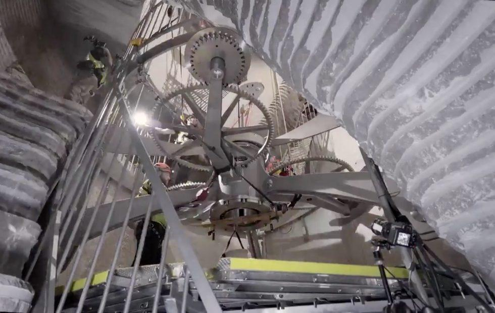 The 10,000 Year Clock that Jeff Bezos is funding is being installed