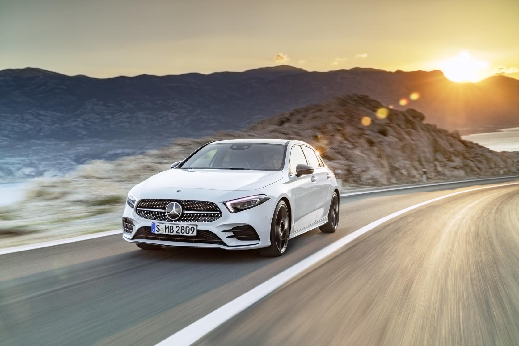2019 Mercedes Benz A Class Gallery Slashgear