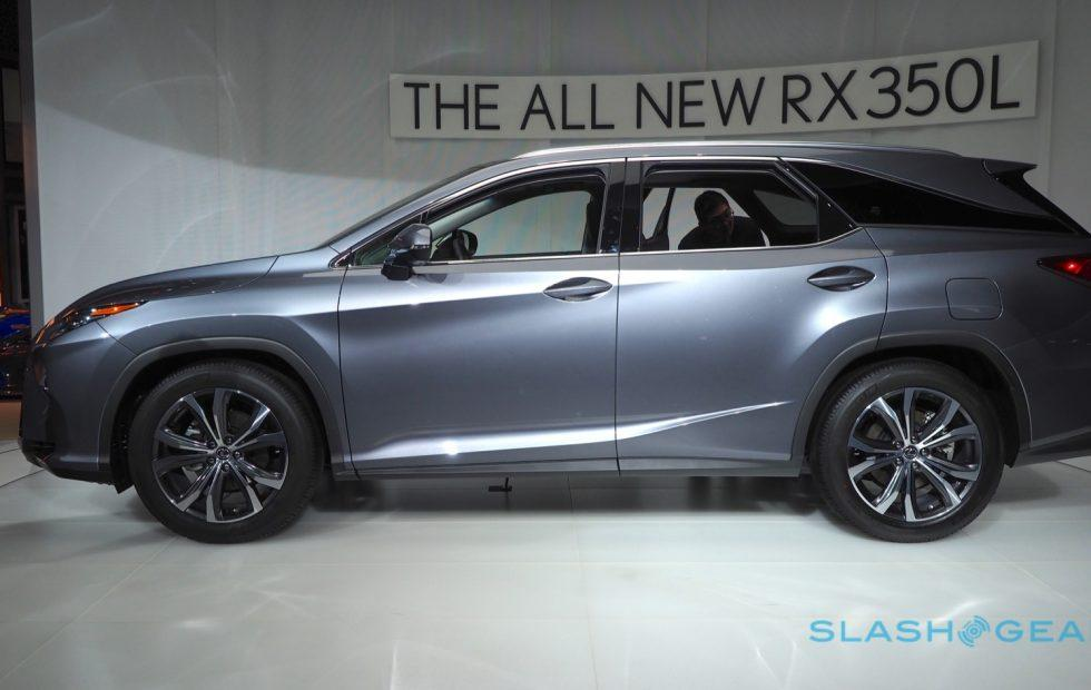 Lexus 3Rd Row >> 2018 Lexus Rx 450hl 3 Row Hybrid Suv Priced Up Slashgear