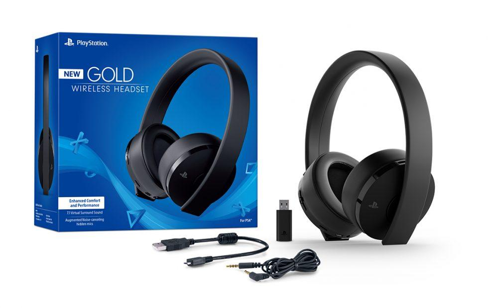 PS4 Gold wireless headset is actually black