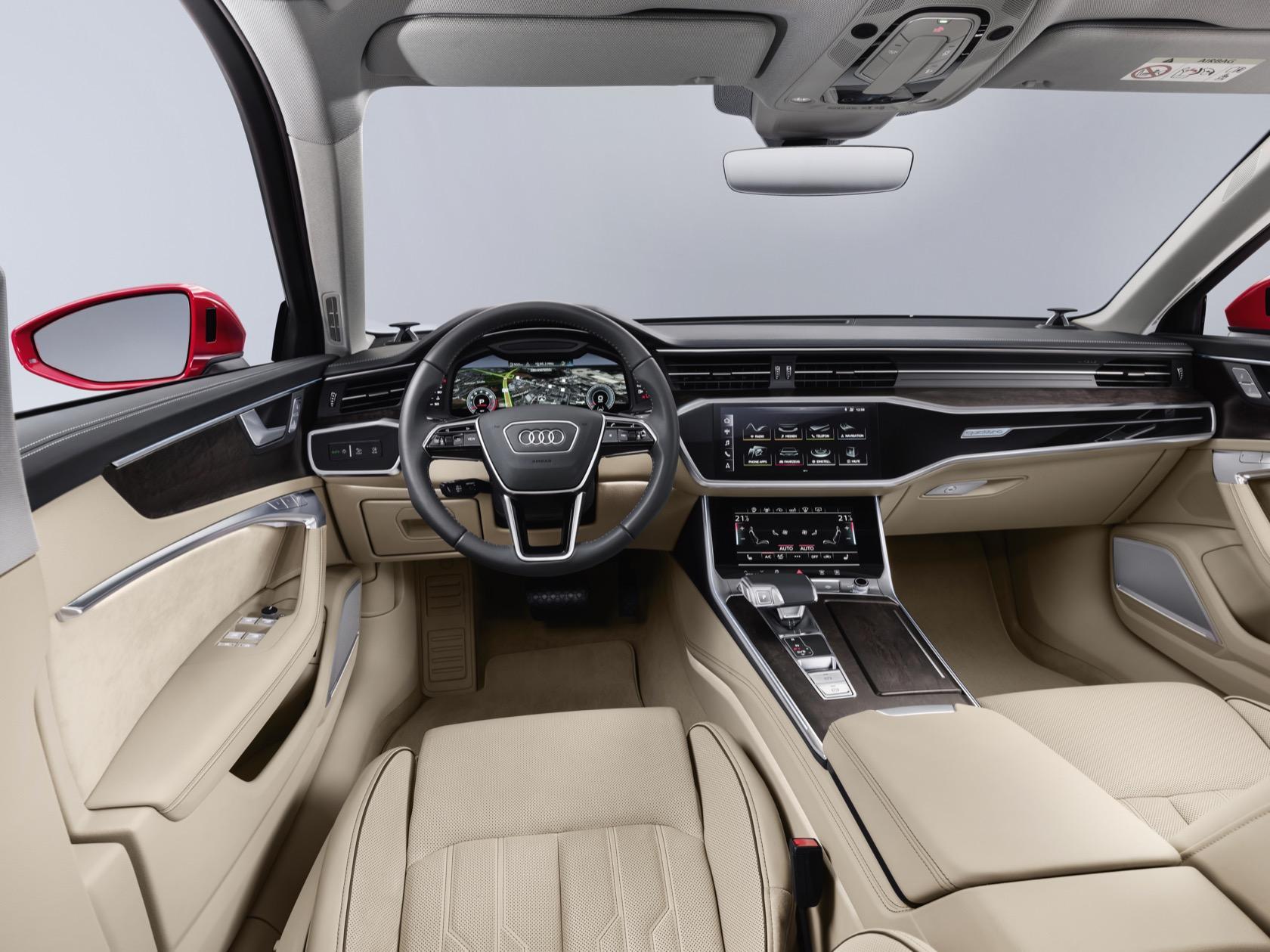 2019 Audi A6 gives luxury sedan a huge tech injection