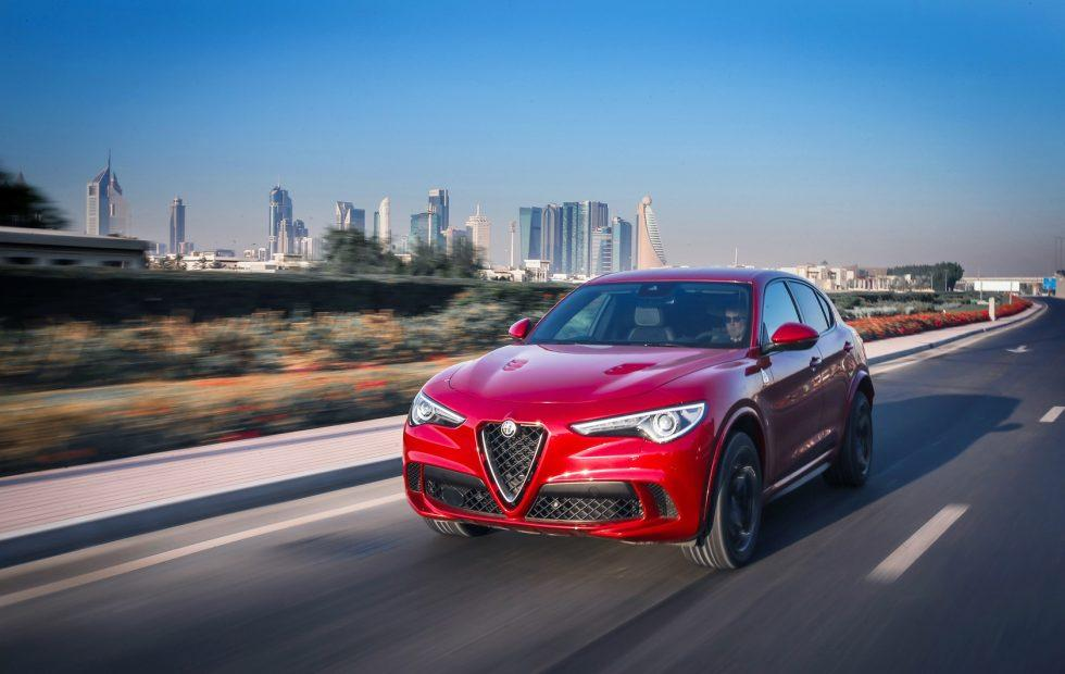 2018 Alfa Romeo Stelvio Quadrifoglio priced up